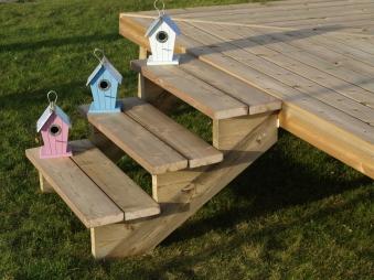 Treppenwange für 6 Stufen Plus Massivholz druckimprägniert 1 Stück Bild 2