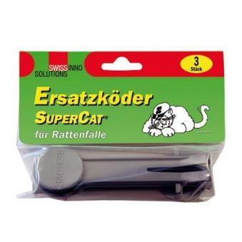 Ersatzköder SuperCat Rattenfalle SwissInno 3 Stück Bild 1