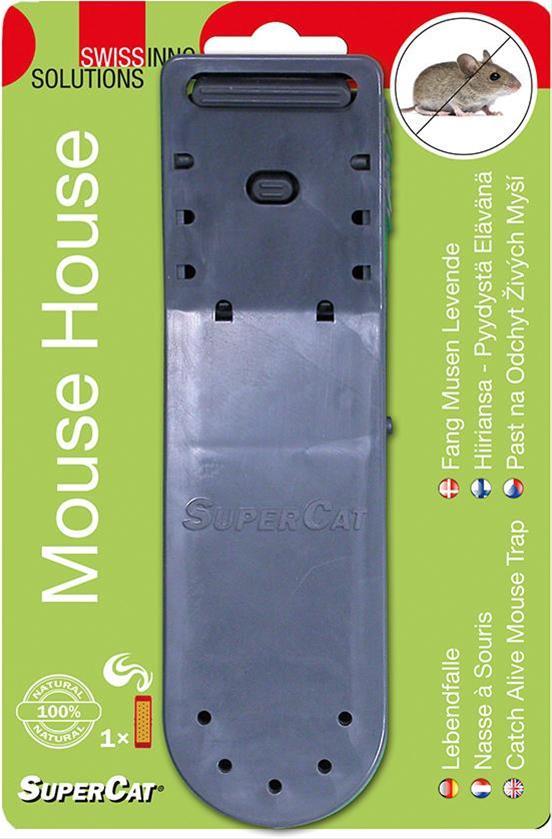 Lebendfalle Mausehaus Swissinno Solution Bild 1