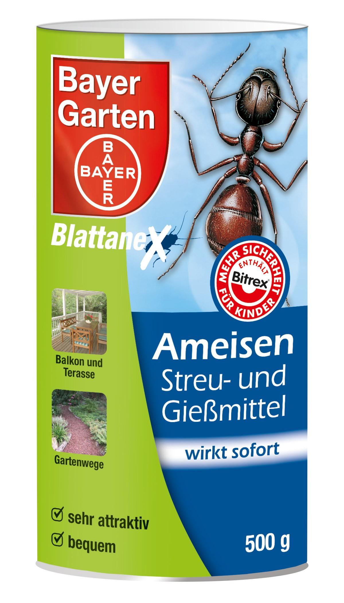 Bayer Garten Ameisenmittel / Ameisen Streu- und Gießmittel 500g Bild 1