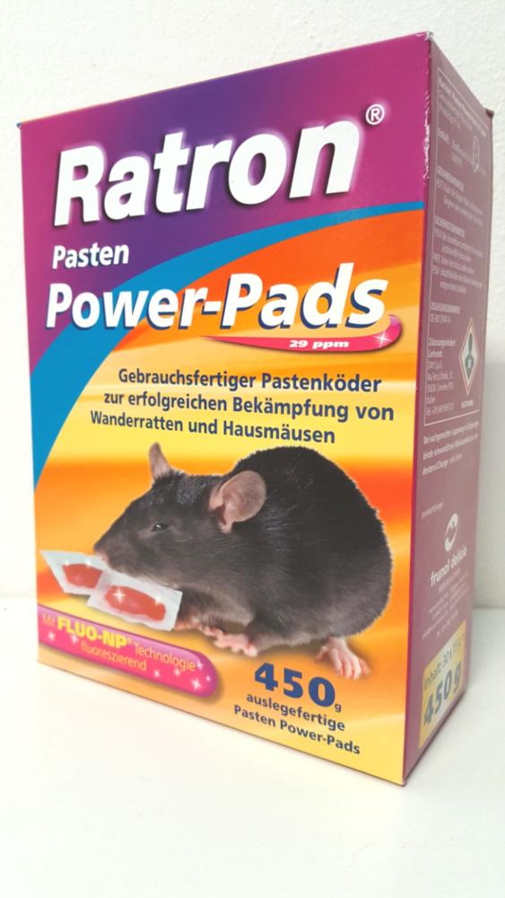 Ratron Rattengift Mäusegift Rattenköder Mäuseköder Pads Bild 1