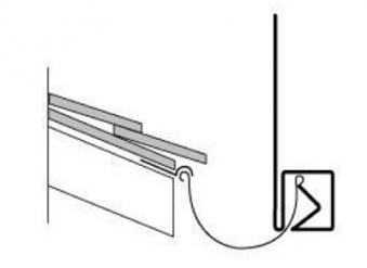 Taubenschutz / Taubenabwehr Typ 4 Steelinox Bild 2