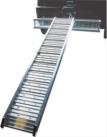 Aluminium Verladerampe klappbar Bild 1