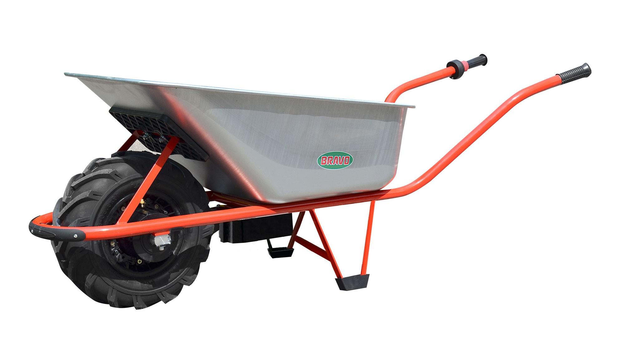 Elektro Schubkarre MOTOkarre Power 300 W  100L verzinkt Bild 1