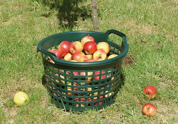 Gartenkorb 15kg rund Bild 1