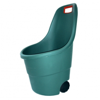 Gartentrolley / Kübelschubkarre Easy Go grün 60 Liter Bild 1