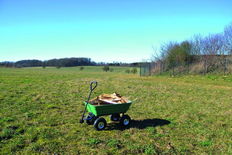 Gartenwagen GGW 250 Güde mit Kippfunktion max. 250 kg Bild 3