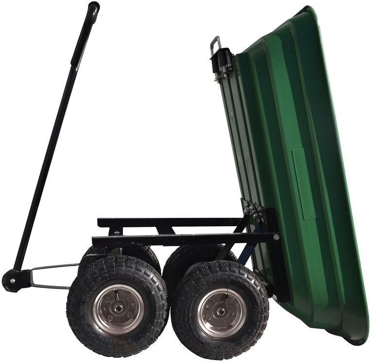 Gartenwagen GGW 300 Güde mit Kippfunktion max. 300 kg Bild 2