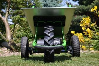 Hinterräder / Doppelachse für Elektro Schubkarre MOTOkarre Standard Bild 3