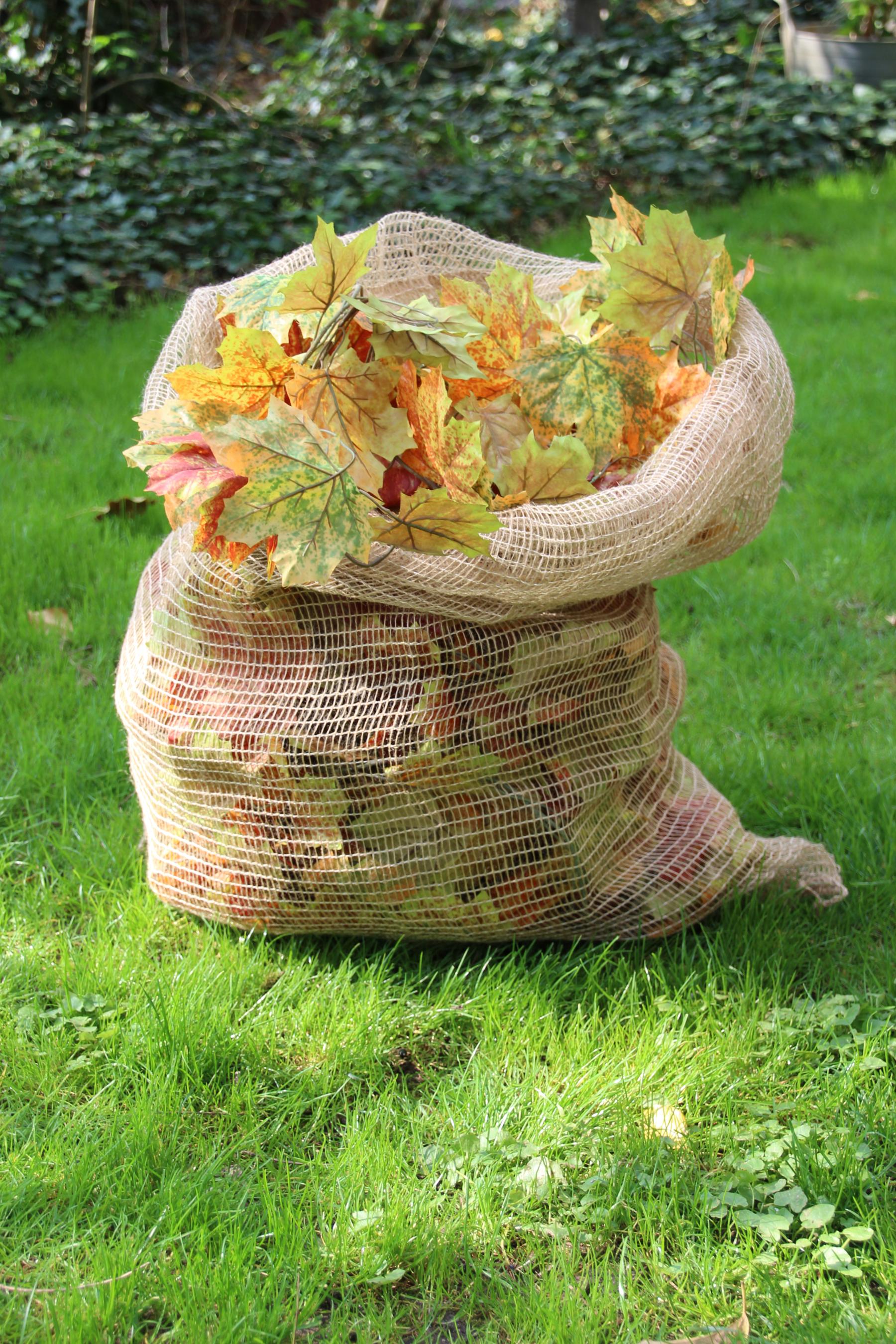 Noor Jute Laubsack 70x100cm kompostierbar 3 Stück Bild 1