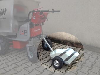 Powerpac Anhänge-Plattform zum Draufstellen für Multi-Dumper MCE400 Bild 1