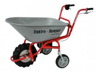 Powerpac Elektro-Dumper / Schubkarre Elektroantrieb ED120 montiert Bild 1
