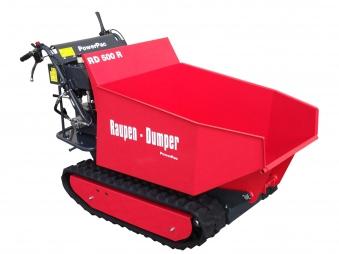 Powerpac Raupen-Dumper RD500R mit Schüttmulde oder Pritsche Bild 1