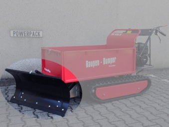 Powerpac Schneeschild 85cm für Raupendumper RD500R