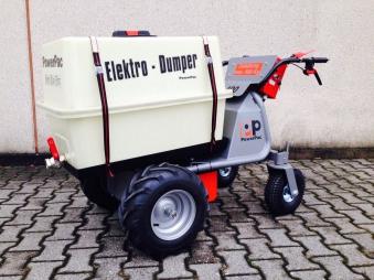 Powerpac Wassertank für Elektro Multi-Caddy MCE400 Bild 2