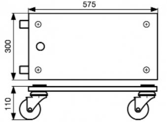 Wagner Transporthilfe MM 1111 / Transportroller / Möbelroller 400kg Bild 2