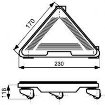Wagner Transporthilfe MM 1191 / Transportroller / Möbelroller 450kg Bild 2