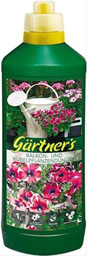 Balkon- u. Kübelpflanzen-Dünger, 1 kg Bild 1