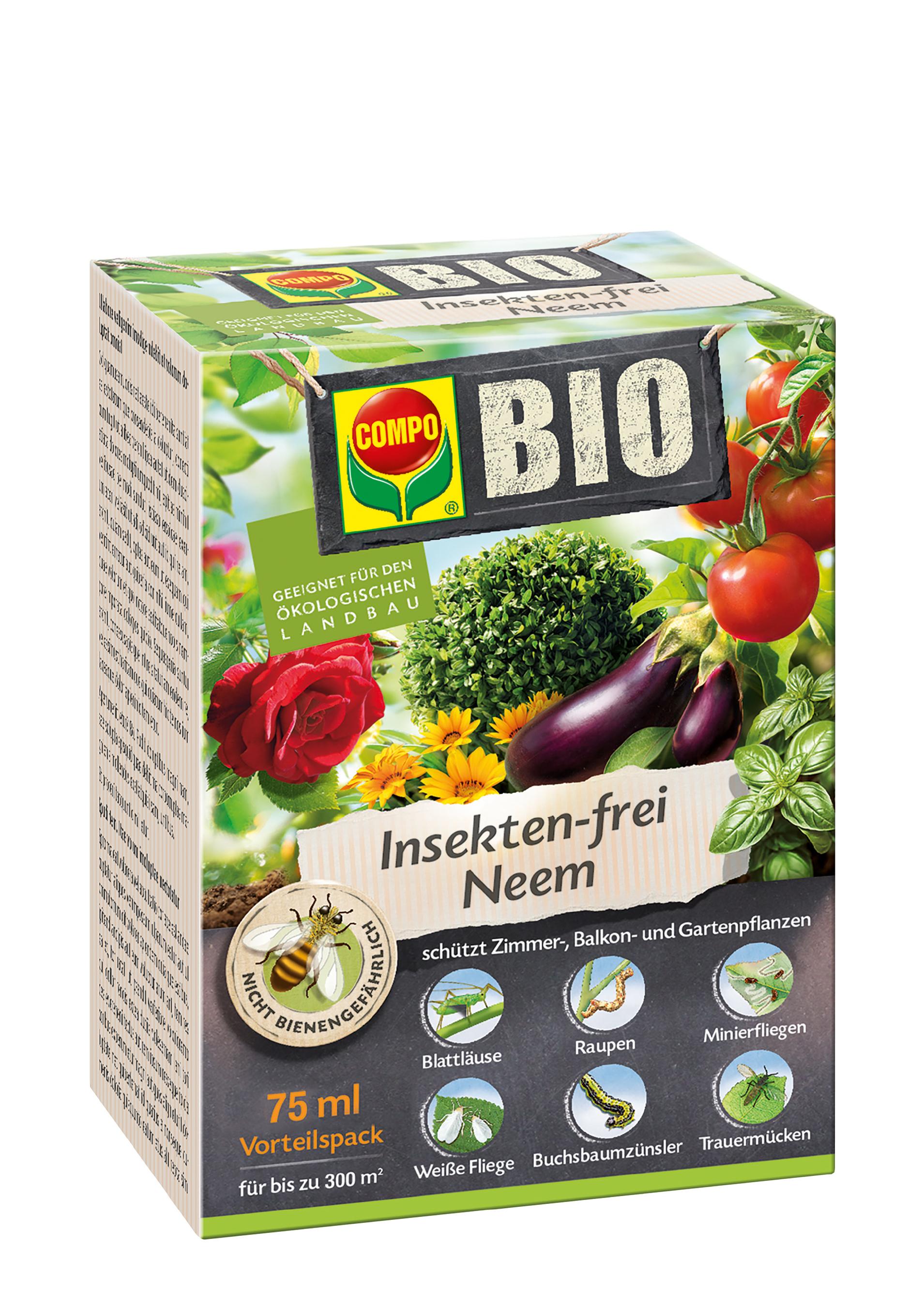 COMPO BIO Insekten-frei Neem 75ml Bild 1