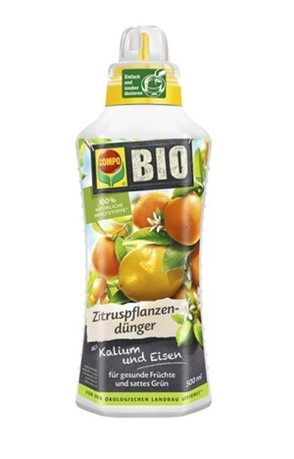 COMPO Bio Zitruspflanzen Dünger 500 ml Bild 1