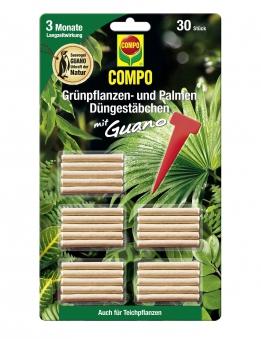 COMPO Düngestäbchen für Grünpflanzen- und Palmen 30 Stück Bild 1