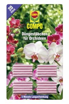 COMPO Düngestäbchen für Orchideen 20 Stück Bild 1