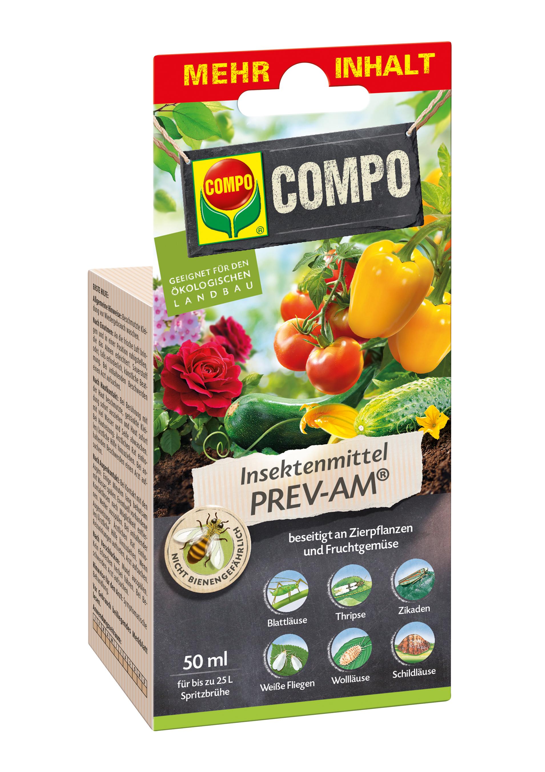 COMPO Insektenmittel PREV-AM 50ml Bild 1
