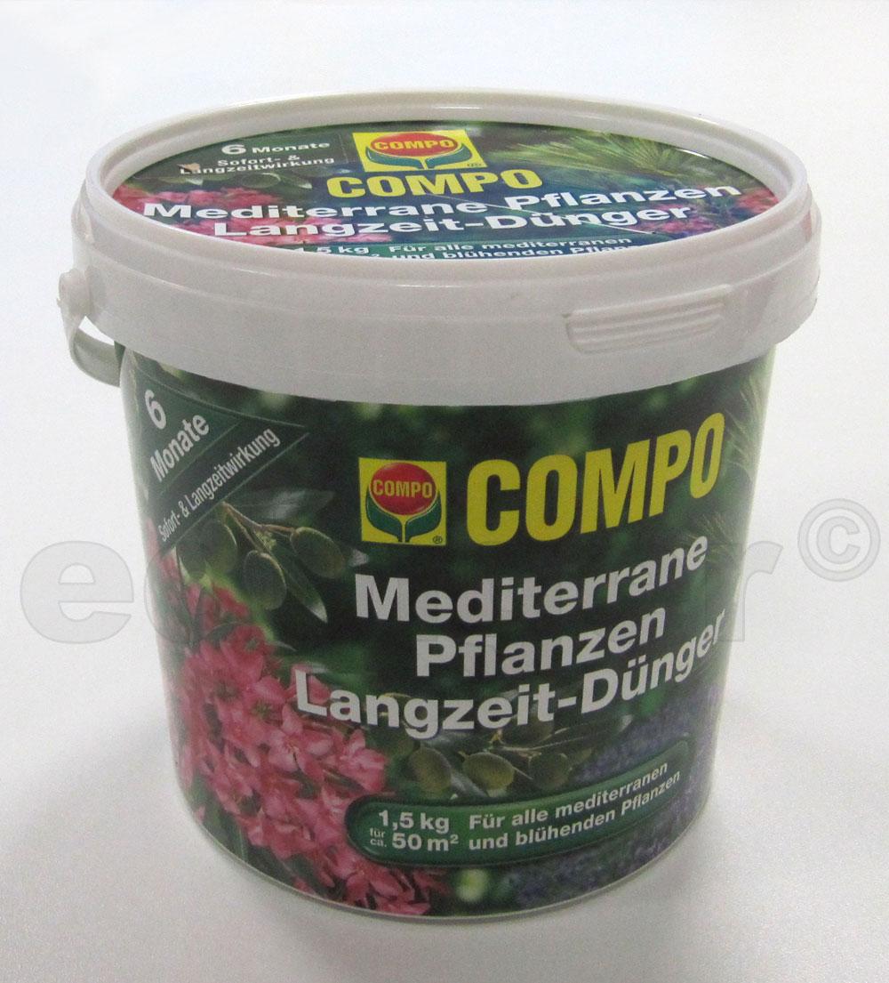 COMPO Mediterraner Pflanzen Langzeit-Dünger 1,5kg Bild 2