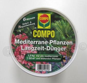 COMPO Mediterraner Pflanzen Langzeit-Dünger 1,5kg Bild 1