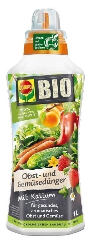 Compo BIO Obst-Gemüsedünger 1 Liter Bild 1