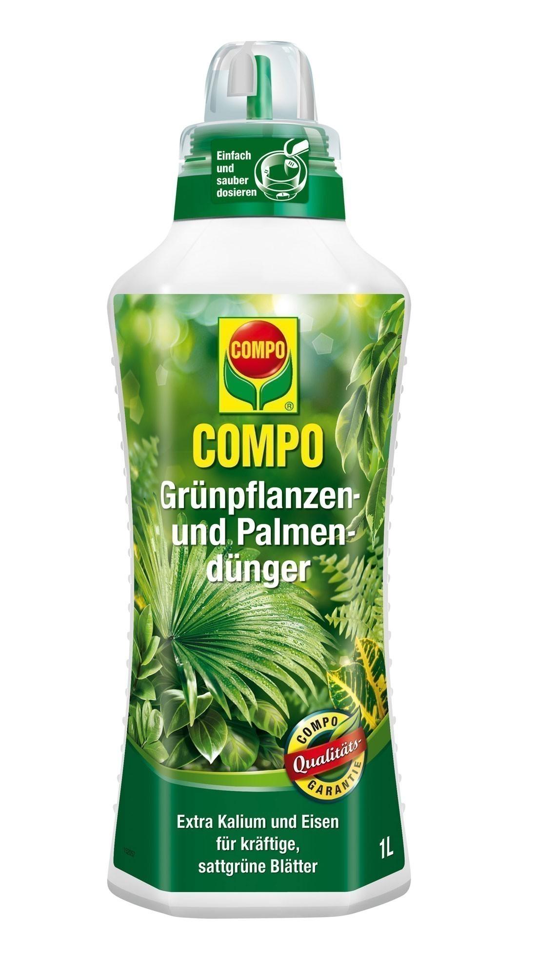 Compo Grünpflanzendünger 1 Liter Bild 1