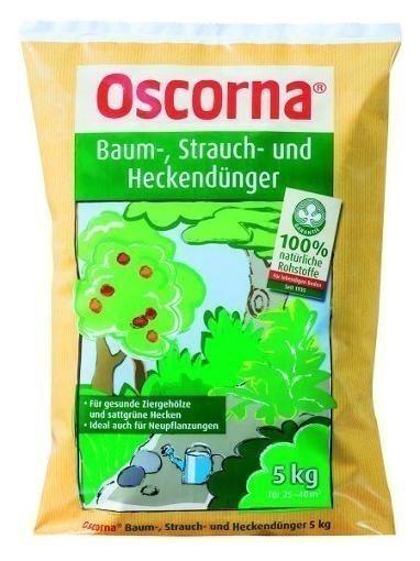 OSCORNA Baum-, Strauch- und Heckendünger 5 kg Bild 1
