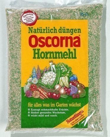 OSCORNA Hornmehl / Dünger 2,5 kg Bild 1