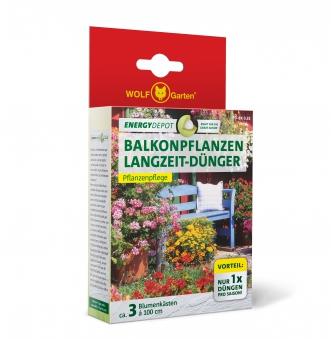 Wolf Garten Balkonpflanzen Langzeit-Dünger Energy Depot 320g Bild 1