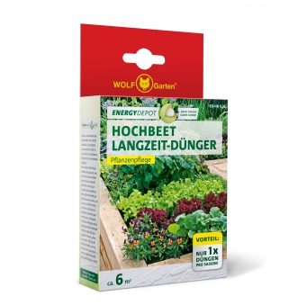 Wolf Garten Hochbeet Langzeit-Dünger Energy Depot 320g Bild 1