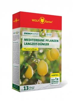 Wolf Garten Mediterrane Pflanzen Langzeit-Dünger Energy Depot 810g Bild 1