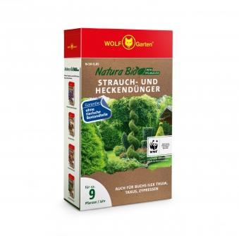 Wolf Garten Natura Bio Strauch- und Heckendünger 850g Bild 1