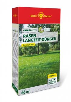 Wolf Garten Rasen Langzeit-Dünger Energy Depot für 60m² Bild 1
