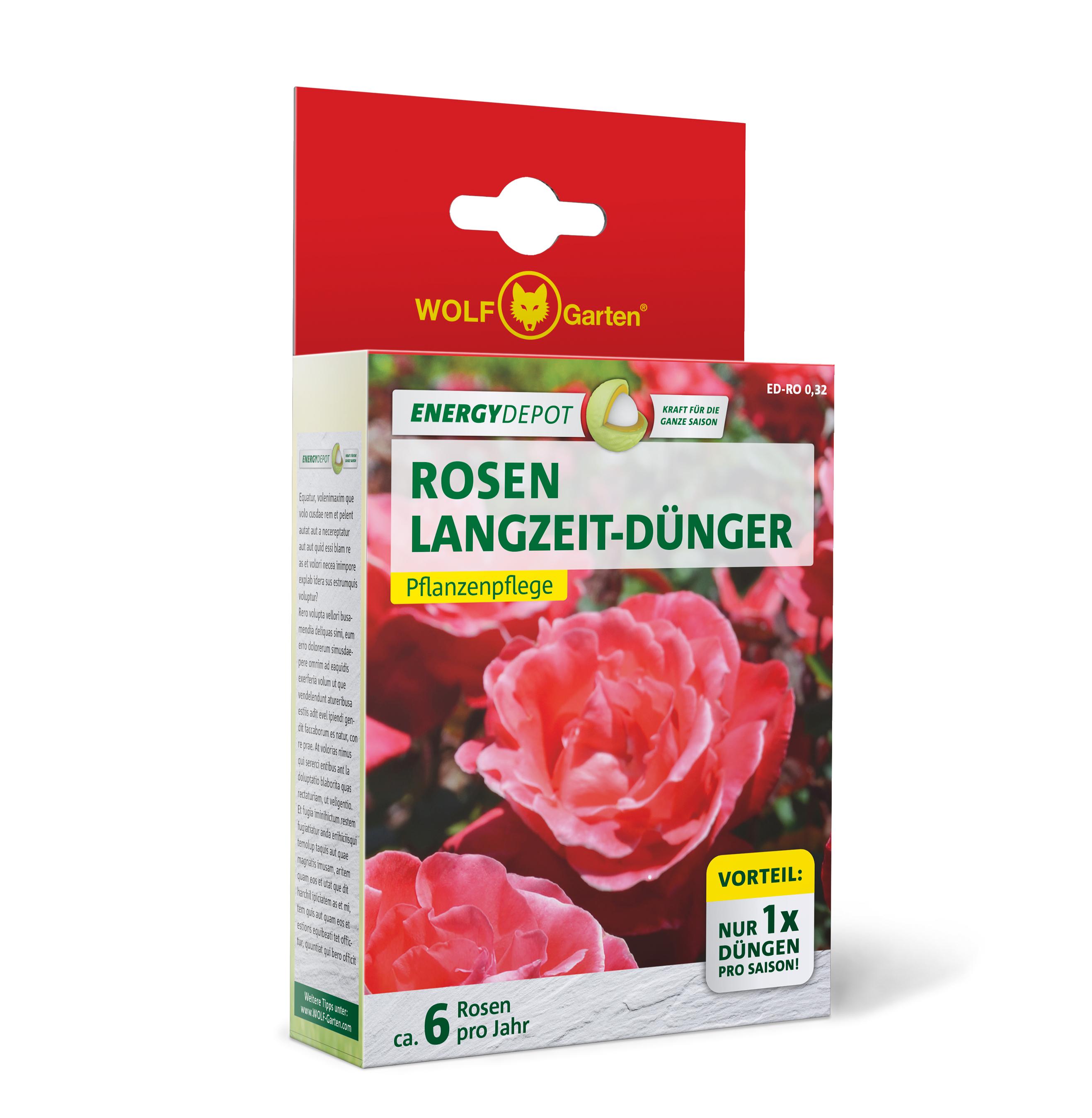 Wolf Garten Rosen Langzeit-Dünger Energy Depot 320g Bild 1