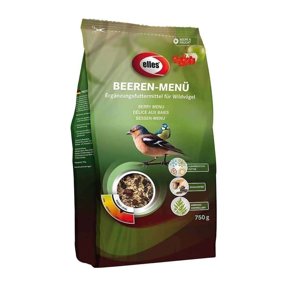 Vogelfutter Beerenmenü elles 750 g Bild 1