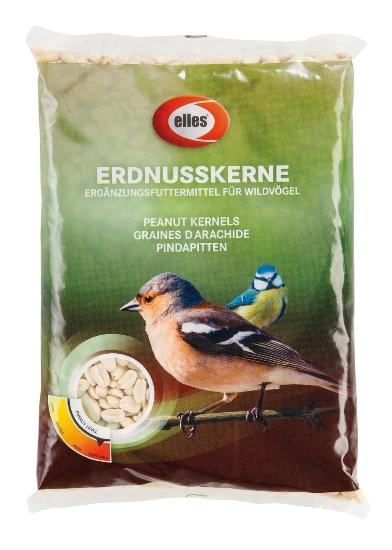 Vogelfutter Erdnusskerne elles 1 kg Bild 1