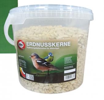 Vogelfutter Erdnusskerne elles 3 kg Bild 1