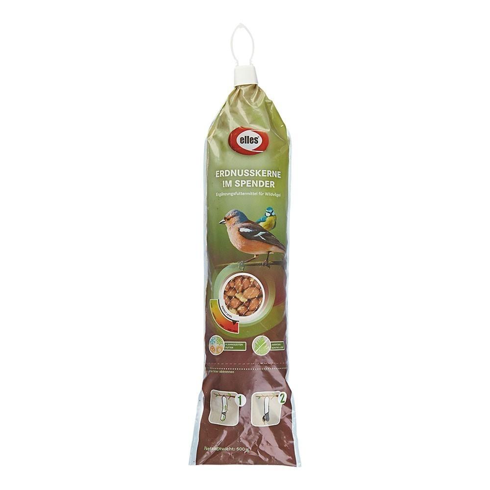 Vogelfutter Erdnusskerne im Spender elles 500g Bild 1