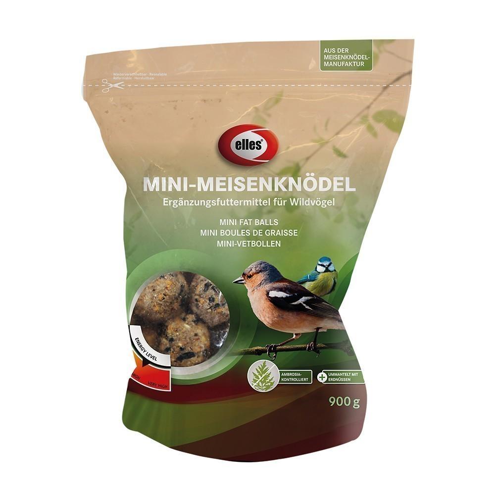 Vogelfutter Mini Meisenknödel ummantelt mit Erdnüssen elles 900g Bild 1