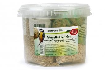 Vogelfutter - Set im Kunststoff Eimer Bild 1