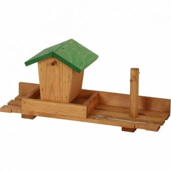 Balkon Vogelfuttersilo 40x15x20cm Bild 1