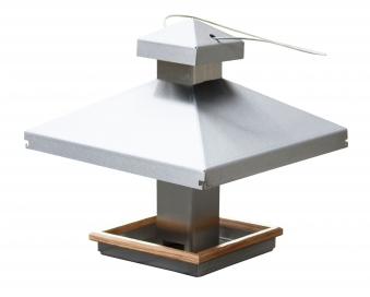vogelhaus edelstahl mit edelstahlseil zum aufh ngen bei. Black Bedroom Furniture Sets. Home Design Ideas