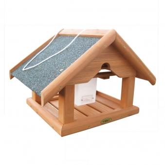 Vogelhaus / Futterhaus Habau Buchfink mit Silo 38x28x30cm Bild 1