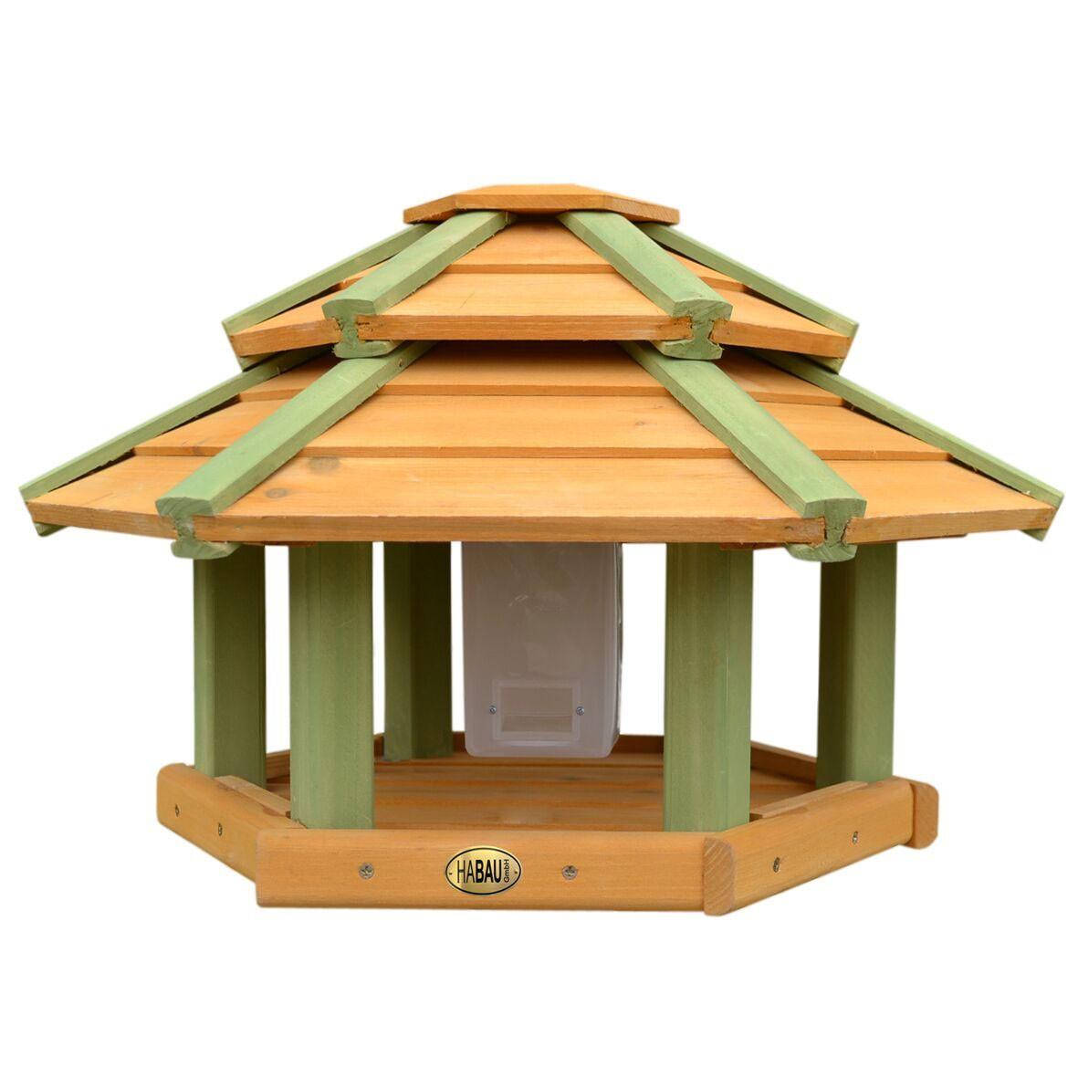 Vogelhaus / Futterhaus Habau Tokyo mit Silo und Ständer Bild 1