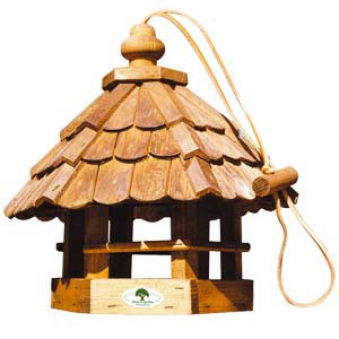Vogelhaus / Vogelfutterhaus Feldlerche 30x30x35cm Bild 1